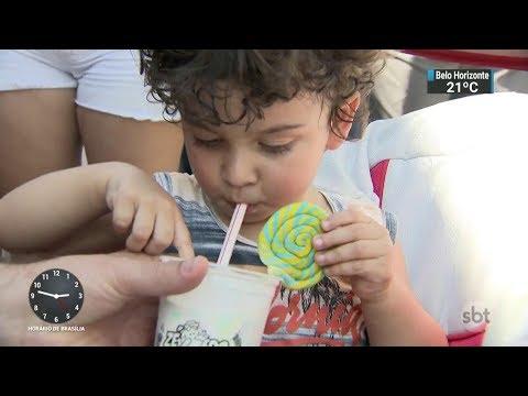 Festival gastronômico em São Paulo oferece atrações para toda a família | SBT Notícias (13/10/17)