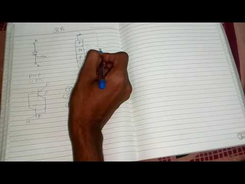 SCR (silicon control rectifier) in hindi