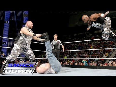 The Dudley Boyz vs. Luke Harper & Erick Rowan – Tables Match: SmackDown, Jan. 14, 2016