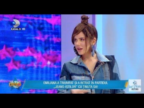 Bravo, ai stil! All Stars (15.03.2018) - Raluca si Bote, despre tinuta Emilianei: