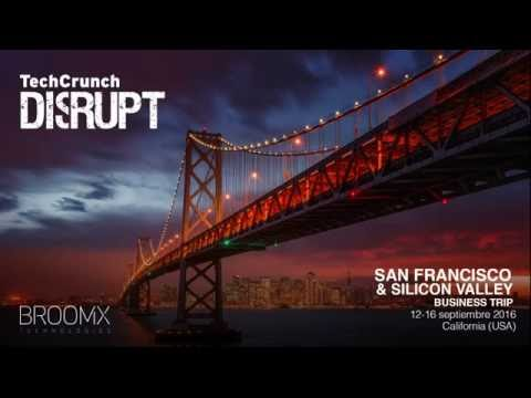 Broomx Technologies en TechCrunch Disrupt San Francisco 2016