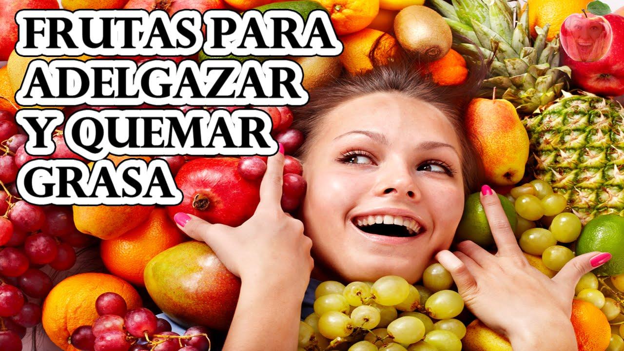 la mejor fruta para bajar de peso rapido