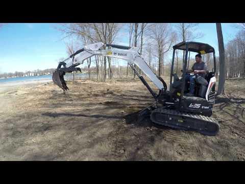 Bobcat E-35 Mini Excavator Demo   Ward's Equipment Rental
