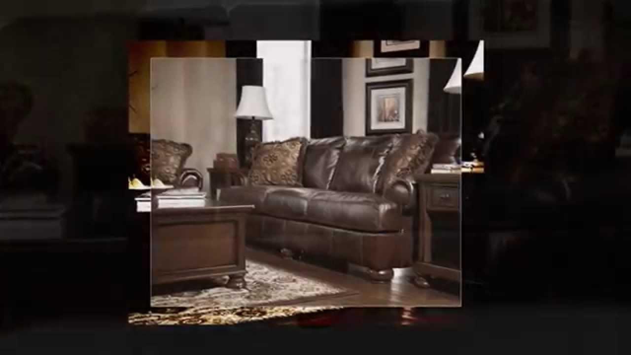 Axiom walnut by ashley furniture