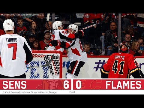Oct 13: Sens vs. Flames - Post-game Media