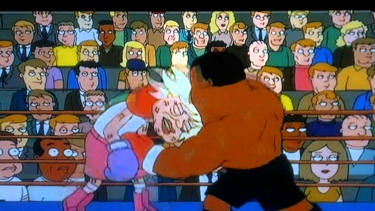 Family Guy: Mike Tyson Vs Carol Channing - YouTube