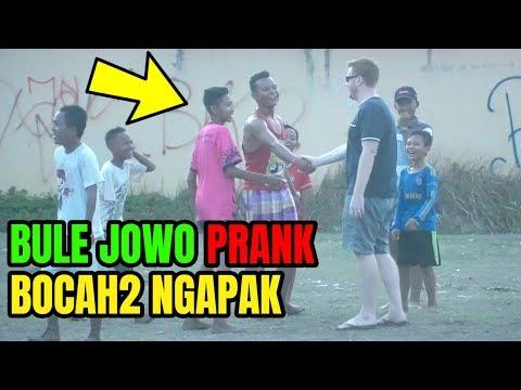PRANK BULE NGOMONG JOWO DI NGAPAKLAND!