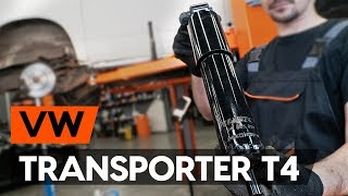front and rear Wiper Motor fitting VW TRANSPORTER IV Bus (70XB, 70XC, 7DB, 7DW): free video