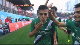 Spartak Moskau - FC St. Gallen (Europa League 2013/14)