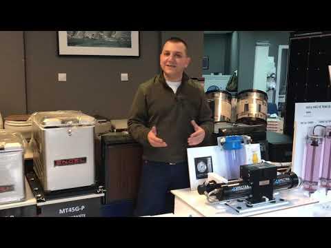 Oktay Önal, Spectra Markası'nın Ventura 200T Modeli Olan, 12V & 24V çalışan Su Yapıcıyı Tanıtıyor
