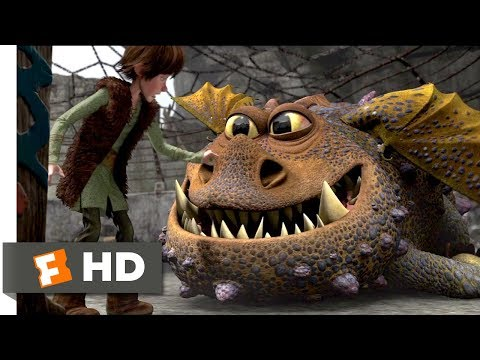 How to Train Your Dragon (2010) - Training Tips Scene (4/10) | Movieclips