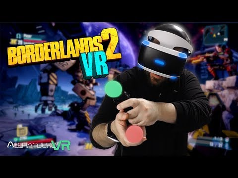 BORDERLANDS 2 en REALIDAD VIRTUAL con los PS Move en PS VR#2