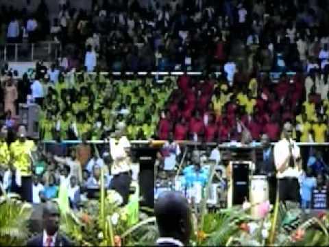Jojo Malet at Pastor Adeboye's Visit to Cameroon