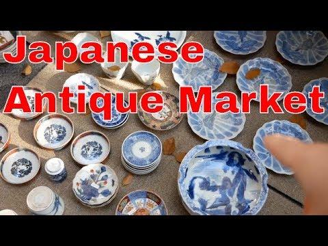 Japanese Antique Market - Tokyo Oedo