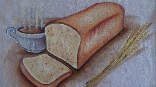 Pão de Forma – Pintura em Tecido