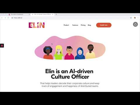 Product Demo – Elin AI-Driven Culture Officer