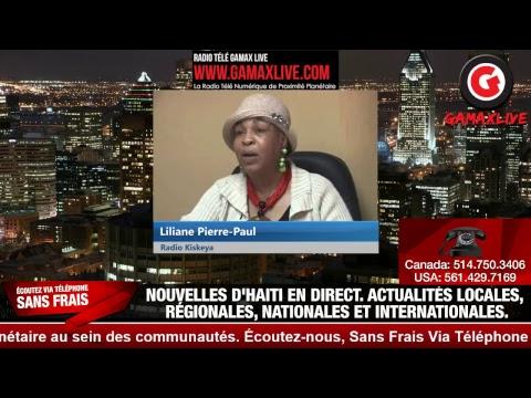 (Gamax Live) gamaxlive.com • JOUNAL KREYÒL 4è •  RADIO KISKEYA HAITI • EN  DIRECT SUR LES  RÉSEAUX A