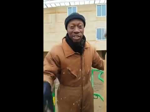 Brother Polight shows his real estate development site in Columbus Ohio