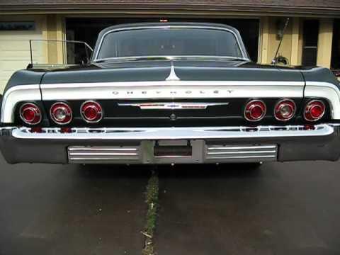 64 Impala 283 Green on Green CA 321