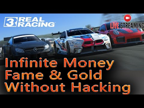 Infinite Money, Fame & Gold In REAL RACING 3 - Without Hacking