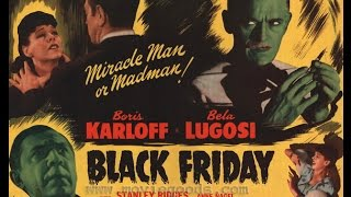 Black Friday (1940), Re-Release Trailer