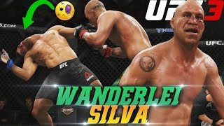 Wanderlei Silva Is Breaking NECKS In UFC 3! Insane Knockouts! EA Sports UFC 3 Online Gameplay
