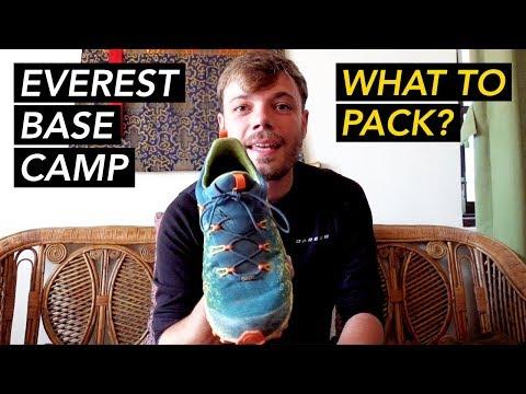 Everest Base Camp Trek Packing List - Go Light Weight
