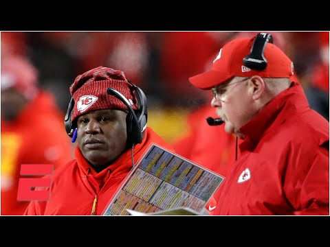 Why aren't the Texans requesting to interview Chiefs OC Eric Bieniemy? | Keyshawn, JWill and Zubin