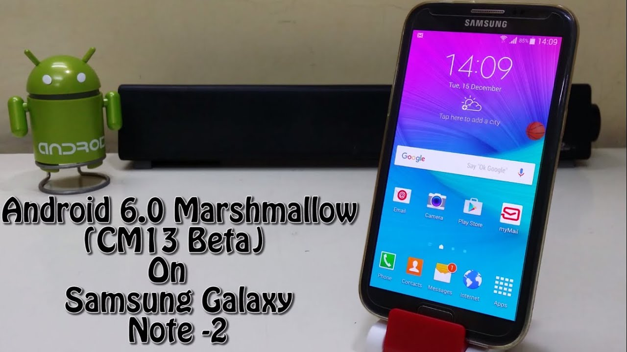 android 6 0 marshmallow cm13 beta on samsung galaxy note 2 youtube. Black Bedroom Furniture Sets. Home Design Ideas