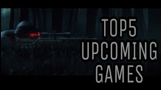 TOP 5 UPCOMING FPS,RPS/HIGH GRAPHICS GAMES FOR ANDROID (2017-2018) HD