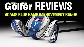 Adams Blue hybrids, fairway and irons review