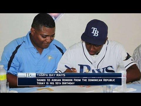 KC@TB: Rays broadcast on signing prospect Rondon