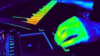 random music using korg kaoss pad kp3 and roland jv 1010 synth module