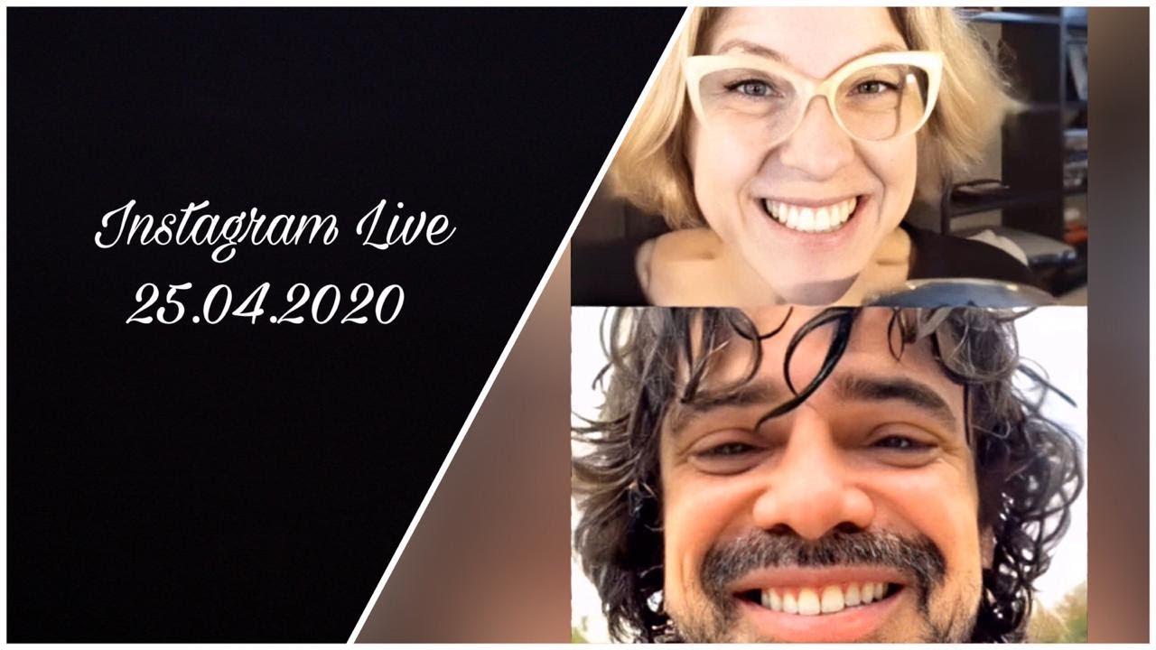 Instagram Live || Carla Peterson y Luciano Castro - YouTube