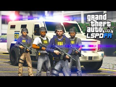 GTA 5 - LSPDFR Ep506 - One Crazy FBI SWAT Patrol!!