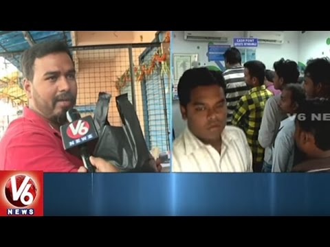 Merchants Facing Problems With Currency Change | Hyderabad | V6  News