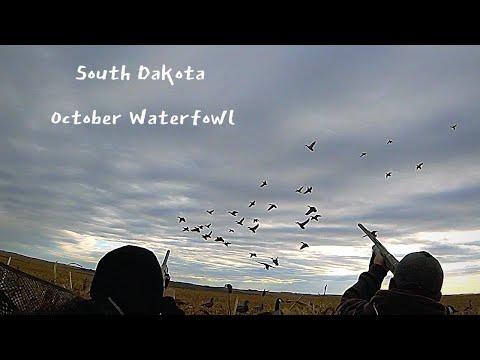 South Dakota October Waterfowl Hunts