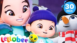 Magic Snowman Song + More Nursery Rhymes & Kids Songs - ABCs and 123s | Learn with Little Baby Bum