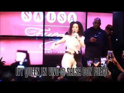 Ivy Queen Performing Live @ Salsa Con Fuego