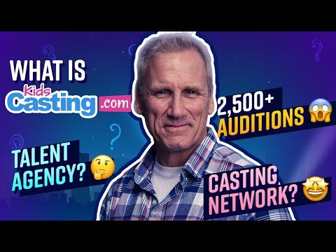 What IS KidsCasting? | Actor Will Roberts Explains