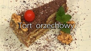 PRZEPIS NA ŚWIĘTA - TORT ORZECHOWY