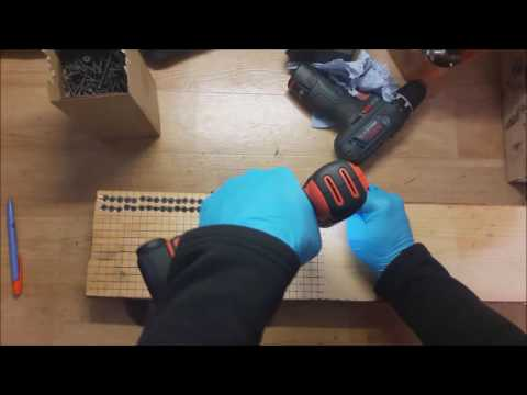 Black + Decker BDCDD12 10,8V 1,5 AH cordless drill review/screw test - HOW MANY SCREWS CAN IT SCREW