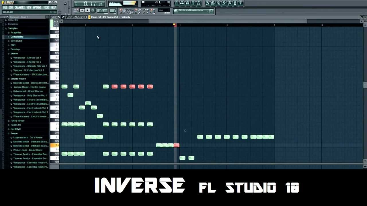 Basto - Gregoryu0026#39;s Theme (FL Studio Piano Tutorial) by Inverse - YouTube