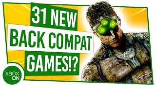 31 New Xbox Backward Compatible Games On Xbox One!?