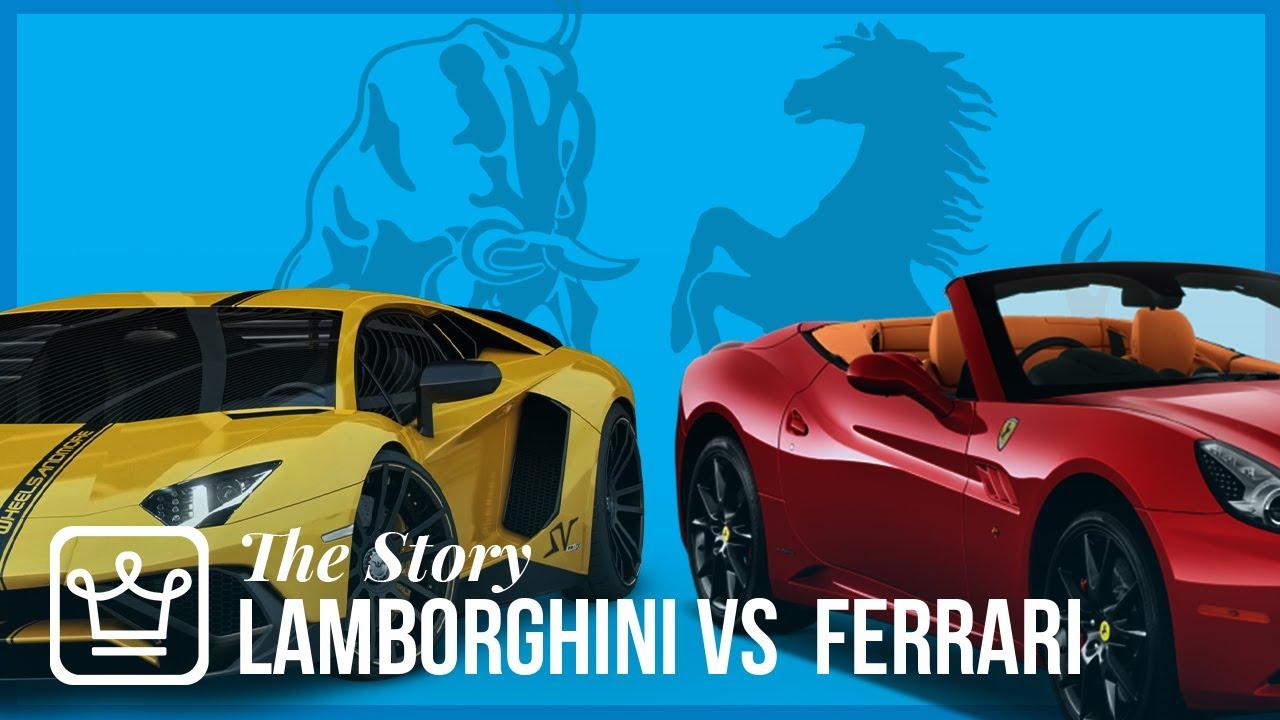 The Epic Story Behind Ferrari And Lamborghini S Rivalry Youtube