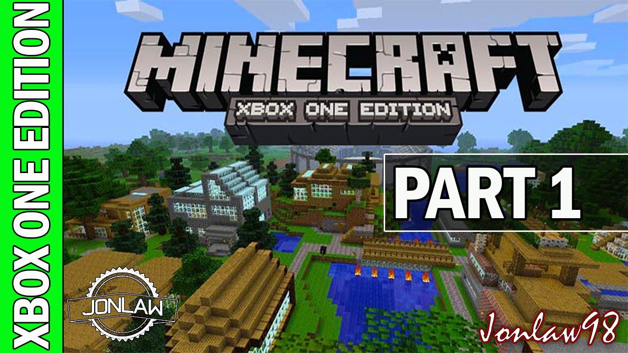 minecraft xbox one gameplay walkthrough  part 1 hard