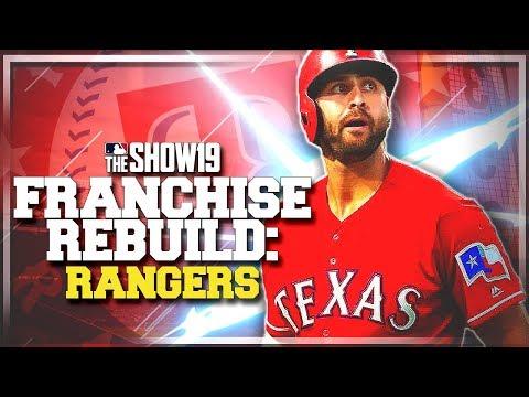 REBUILDING THE TEXAS RANGERS!! | MLB The Show 19 Franchise Rebuild