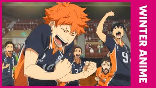 A new year brings anime! from haikyu!!: to the top keep your hands off eizouken! weathering with you, here are our eight must-watch anime of wi...