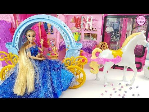 Rapunzel es CENICIENTA ⭐ Princesas Disney Juguetes para niñas