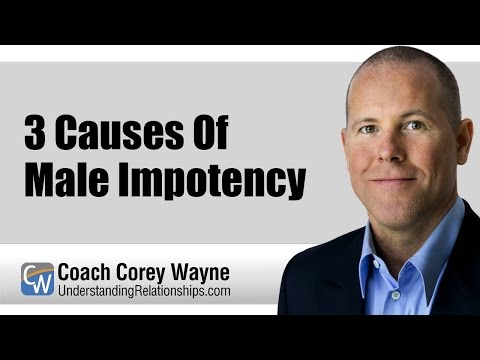 3 Causes Of Male Impotency